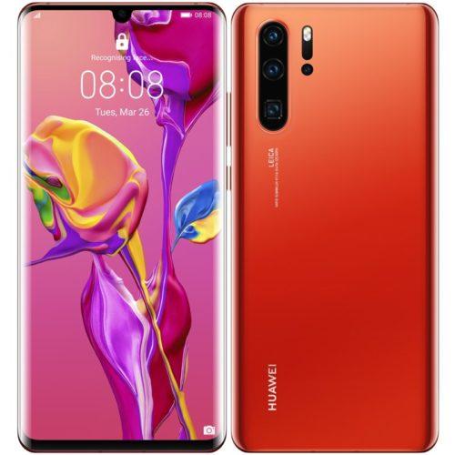 Huawei začíná prodávat telefony P30 a P30 Pro v barvě Amber Sunrise