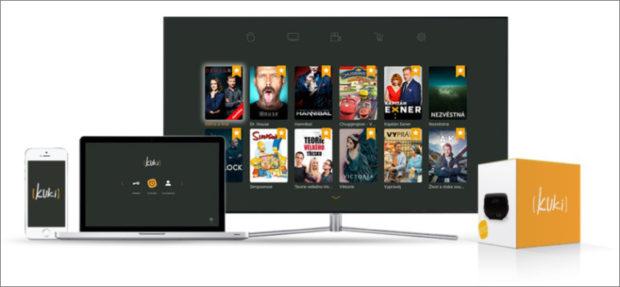 Chytrá internetová televize Kuki je dostupná nově i pro Apple TV