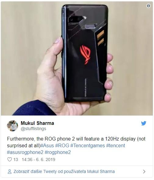 ASUS pracuje na nejvýkonnějším smartphonu. Blíží se představení ROG Phone 2
