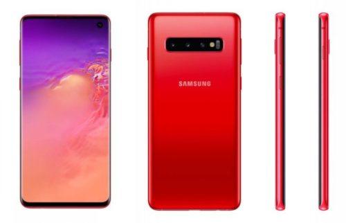 Samsung uvádí do prodeje Galaxy S10(+) v barvě Cardinal Red