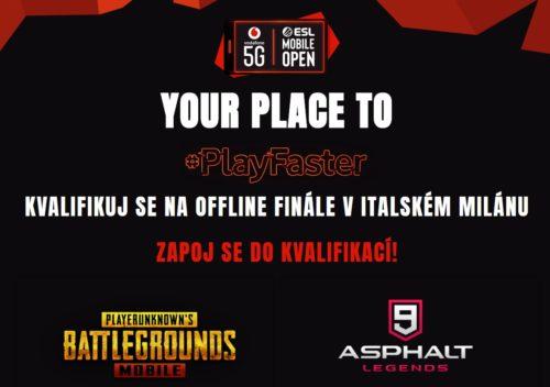 Vodafone s ESL organizuje první globální 5G turnaj v mobilních hrách