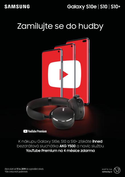 K nákupu telefonů ze série Galaxy S10 nyní získáte bezdrátová sluchátka AKG zdarma