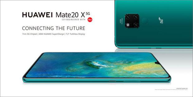 Do Česka míří Huawei Mate 20 X 5G. Známe cenu a dostupnost
