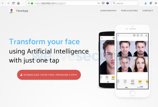 Aplikaci FaceApp, která mění tváře, zneužívají podvodníci