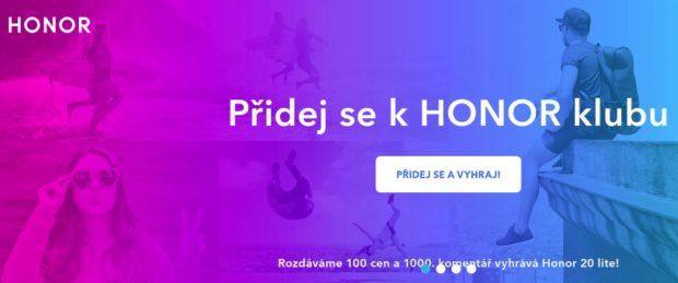Honor spouští novou platformu pro fanoušky značky s názvem Honor Klub