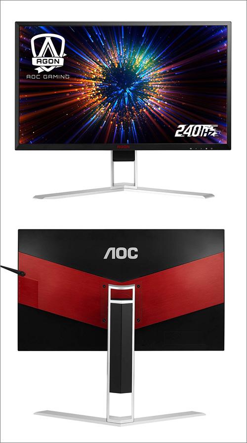 AOC AG271FZ2 a AG251FZ2: 240Hz panel, odezva 0,5 ms a AMD FreeSync