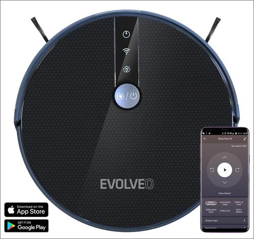 Evolveo RoboTrex H9: Ovládejte vysavač mobilním telefonem