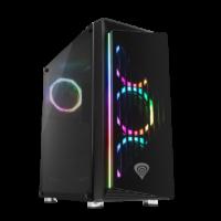 Genesis Irid 400 RGB je pěkná PC skříň s podsvícením