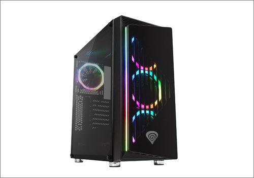 Genesis Irid 400 RGB: PC skříň s podsvícením a líbivým vzhledem