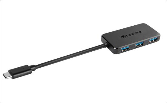 Transcend HUB2C umožní zapojení více periferií do jediného USB konektoru