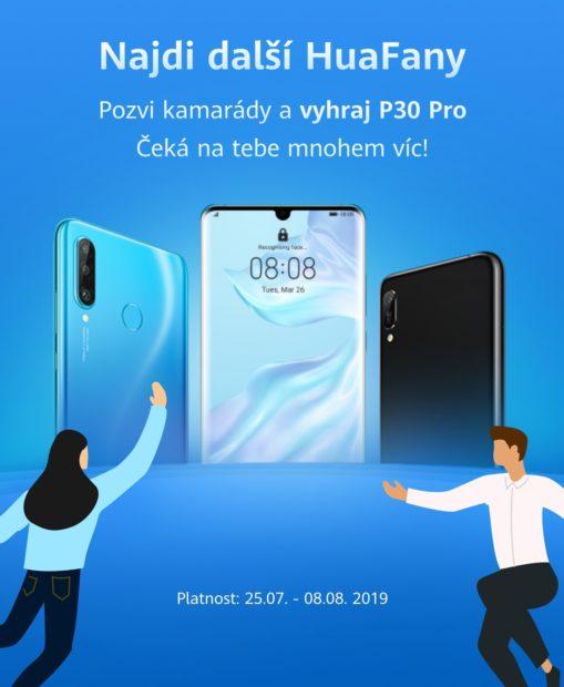 Huawei představuje nové fórum HuaFan a možnost vyhrát telefon P30 Pro