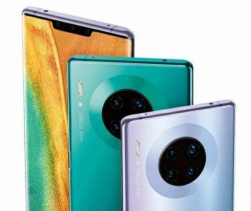 Huawei Mate 30 Pro uniká na tiskové fotografii