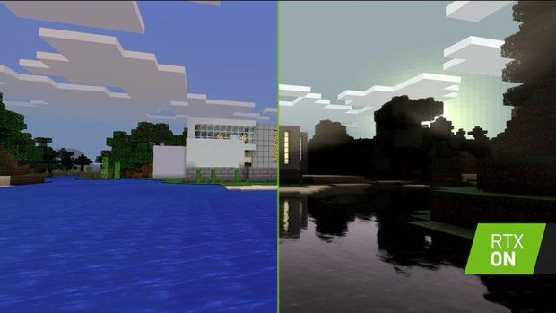 Minecraft získá podporu RTX pro raytracing