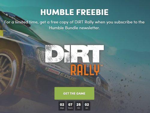 Stahujte zdarma závodní hru Dirt Rally na PC