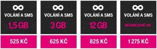 Nové tarify T-Mobile: operátor nabídne neomezená data za 1 175 Kč