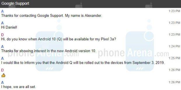 Finální Android 10 dorazí překvapivě už začátkem září