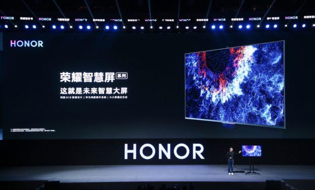 Honor představil svoji první televizi s Harmony OS