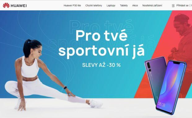 Huawei zlevňuje produkty, které udělají radost nejen sportovcům