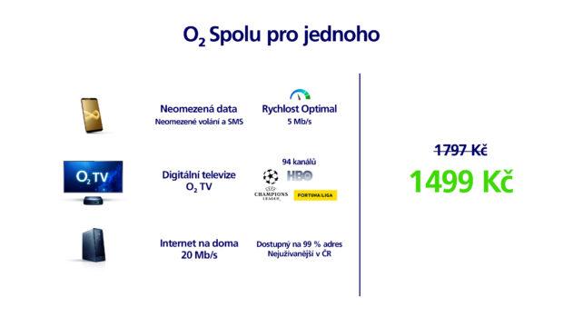 O2 představuje tarify NEO s neomezenými daty a navyšuje datové objemy v ostatních tarifech