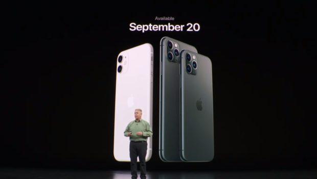 iPhone 11 oficiálně: procesor Apple A13 a vylepšený fotoaparát