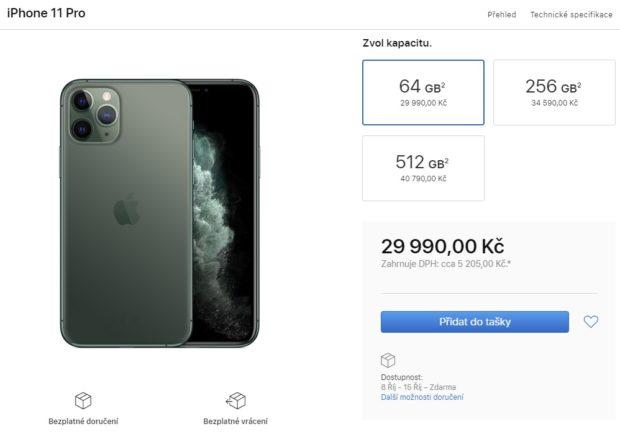 Apple začal prodávat nové iPhony 11 a chytré hodinky Watch 5