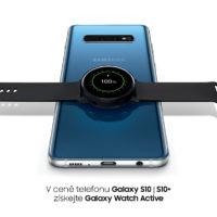 Bomba akce od Samsungu! Nákupem Galaxy S10 získáte zdarma hodinky Galaxy Watch Active