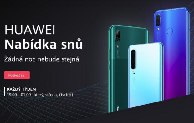 Huawei zlevňuje vybraná sluchátka a přichází se zajímavou akcí na smartphony