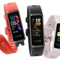 Stylový sportovní náramek Huawei Band 4 míří do prodeje