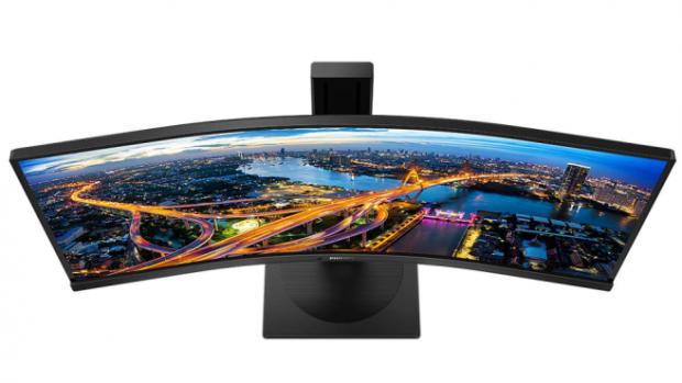 Monitor Philips 346B1C má ultrawide displej i USB-C dokovací stanici