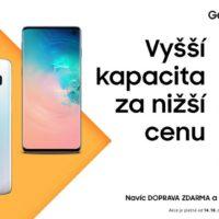 Akce Samsungu! Galaxy S10 a S10+ s 512GB a 1TB pamětí jsou nyní výrazně levnější