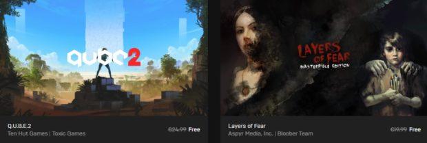 Stahujte: Epic Games Store rozdává hry Q.U.B.E.2 a Layers of Fear zdarma