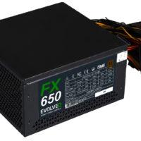 Do prodeje míří počítačové zdroje Evolveo FX 650 a 750