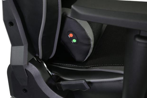 Evolveo má herní křeslo Ptero ZX Cooled s aktivním chlazením