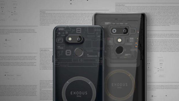 HTC EXODUS 1s: první smartphone na světě, který dokáže být Bitcoinovým uzlem