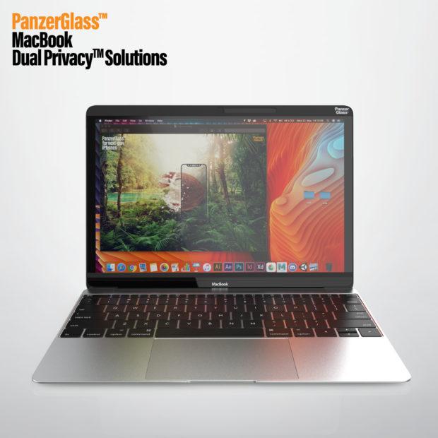 PanzerGlass přichází na trh s filtry pro ochranu soukromí uživatelů Macbooků a PC