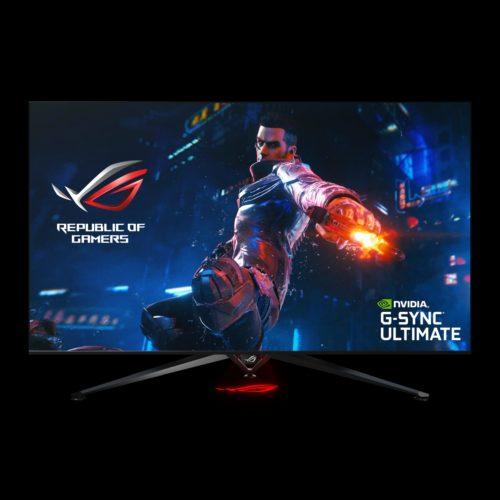 Velkoformátový herní monitor ASUS ROG Swift PG65UQ vstupuje na trh