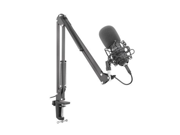 Genesis Radium 400: studiový mikrofon s bohatým vybavením
