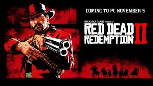 Red Dead Redemption 2 vyjde začátkem listopadu na PC
