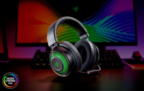 Razer představil špičkový herní headset Kraken Ultimate