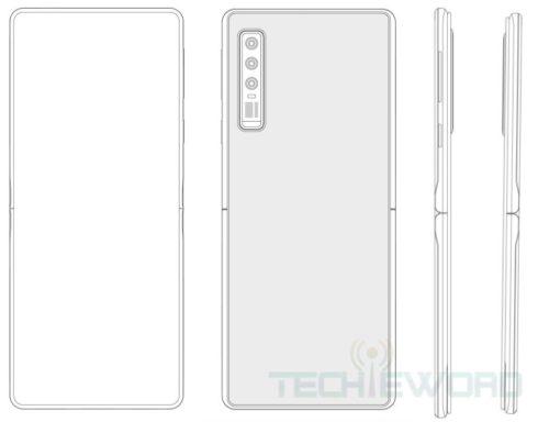 Huawei chystá skládací véčko, bude vypadat jako Motorola Razr