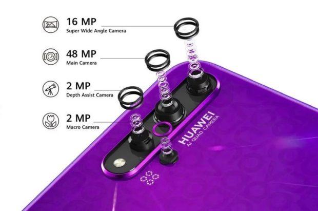 V ČR se začíná prodávat Huawei nova 5T. Má pět fotoaparátů