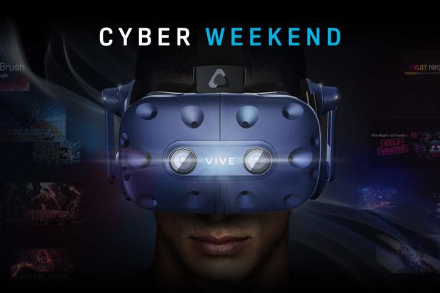 HTC Vive Black Friday přináší výhodné ceny VR setů