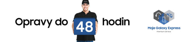 Nová služba Moje Galaxy Express přináší opravu telefonu do 48 hodin