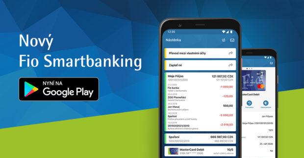 Fio banka vydala novou aplikaci pro Android