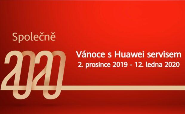 Huawei na Vánoce nabídne prodlouženou záruku, ochranu displeje zdarma a slevy na opravu