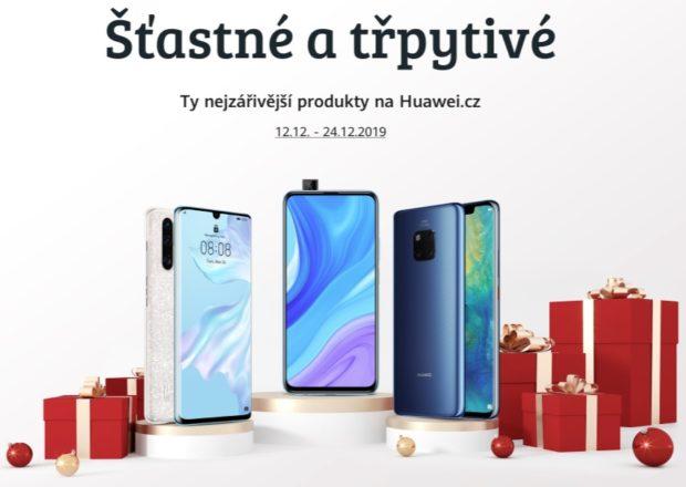 Huawei na Vánoce zlevňuje telefony, tablety i příslušenství