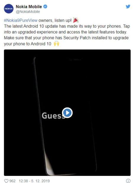 První mobil s šesti fotoaparáty dostane letos Android 10