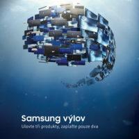 Akce Samsung výlov: Kupte si tři produkty a zaplaťte pouze dva