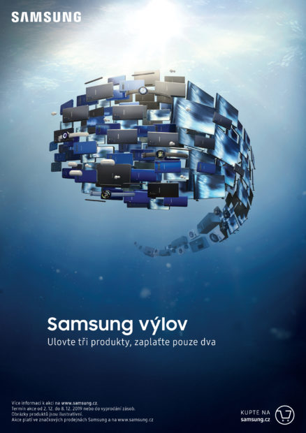Akce Samsung výlov je spuštěna. Ulovte si tři produkty a zaplaťte pouze dva