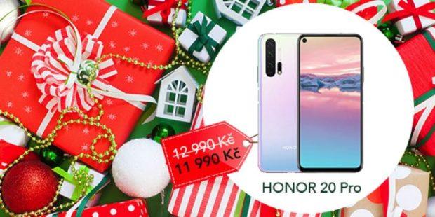 Honor na Vánoce zlevňuje své vybrané telefony